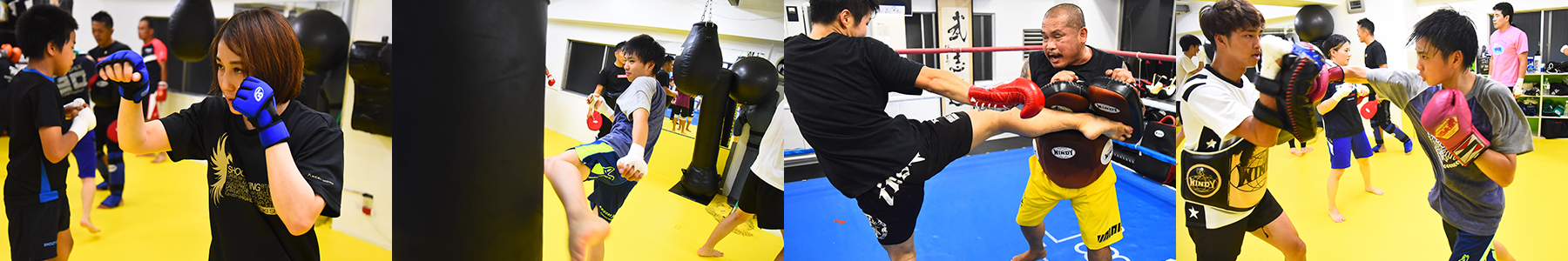 シュートボクシング選手